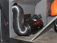 Установка воздушного отопителя Планар в кабину грузовика