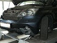 Замена радиатора кондиционера на автомобиле Honda CRV 2010 года