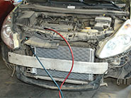Замена радиатора кондиционера на автомобиле Opel Corsa 2009 года