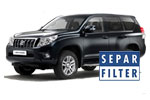 Установка Separ на Toyota Land Cruiser 200