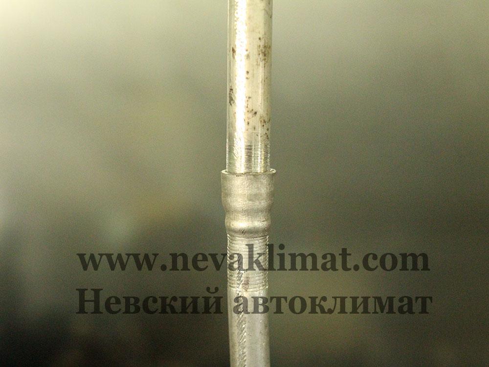 Ремонт алюминиевой трубки кондиционера