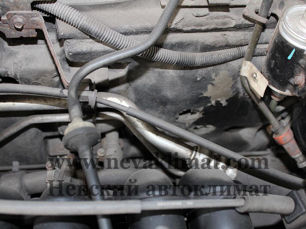 Ремонт радиатора на Rover 25, 2004 года