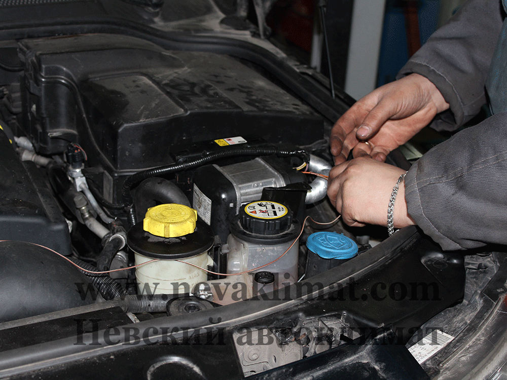 Ремонт предпускового обогревателя Webasto на автомобиле Land Rover Discovery 3