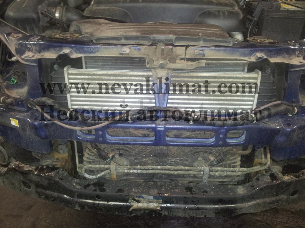 Устранение утечки хладагента на автомобиле Ssang Yong Kyron