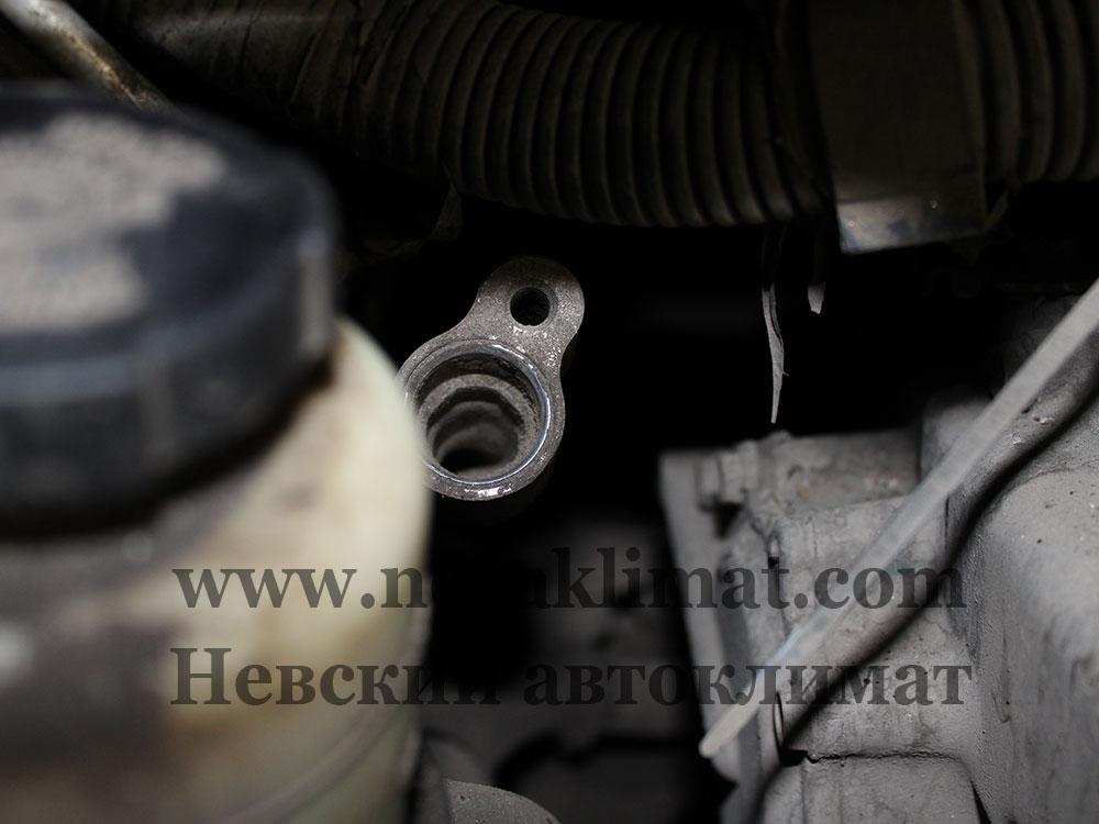Восстановление системы кондиционера автомобиля