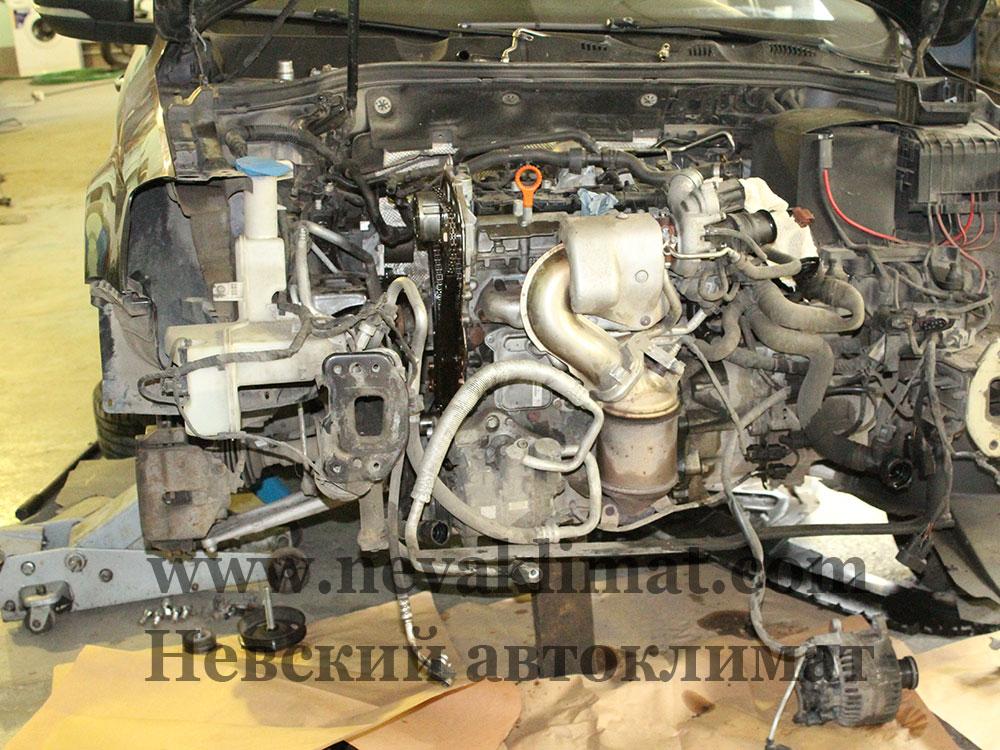 Замена цепи ГРМ на автомобиле Volkswagen Passat 2014 года